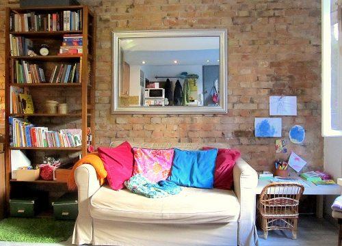 Kis lakásban otthonosan, térnövelő ötletekkel